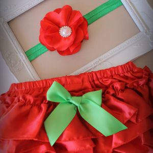 Christmas Ruffle Set - C8