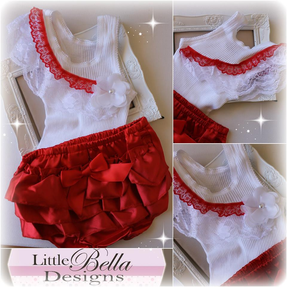 Christmas Ruffles Set