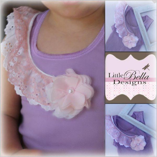 Lavender Lace Singlet - SC67
