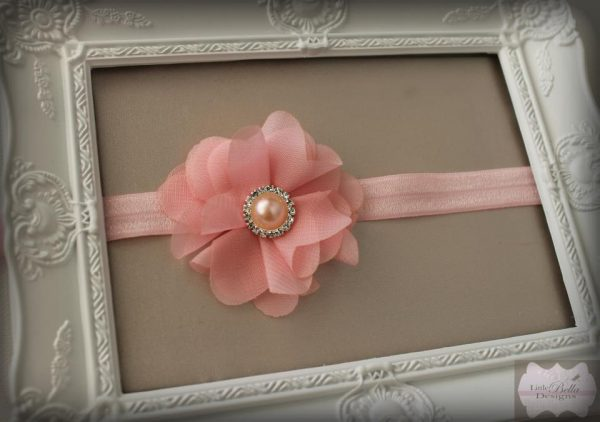 Pink Diamante Headband - H205